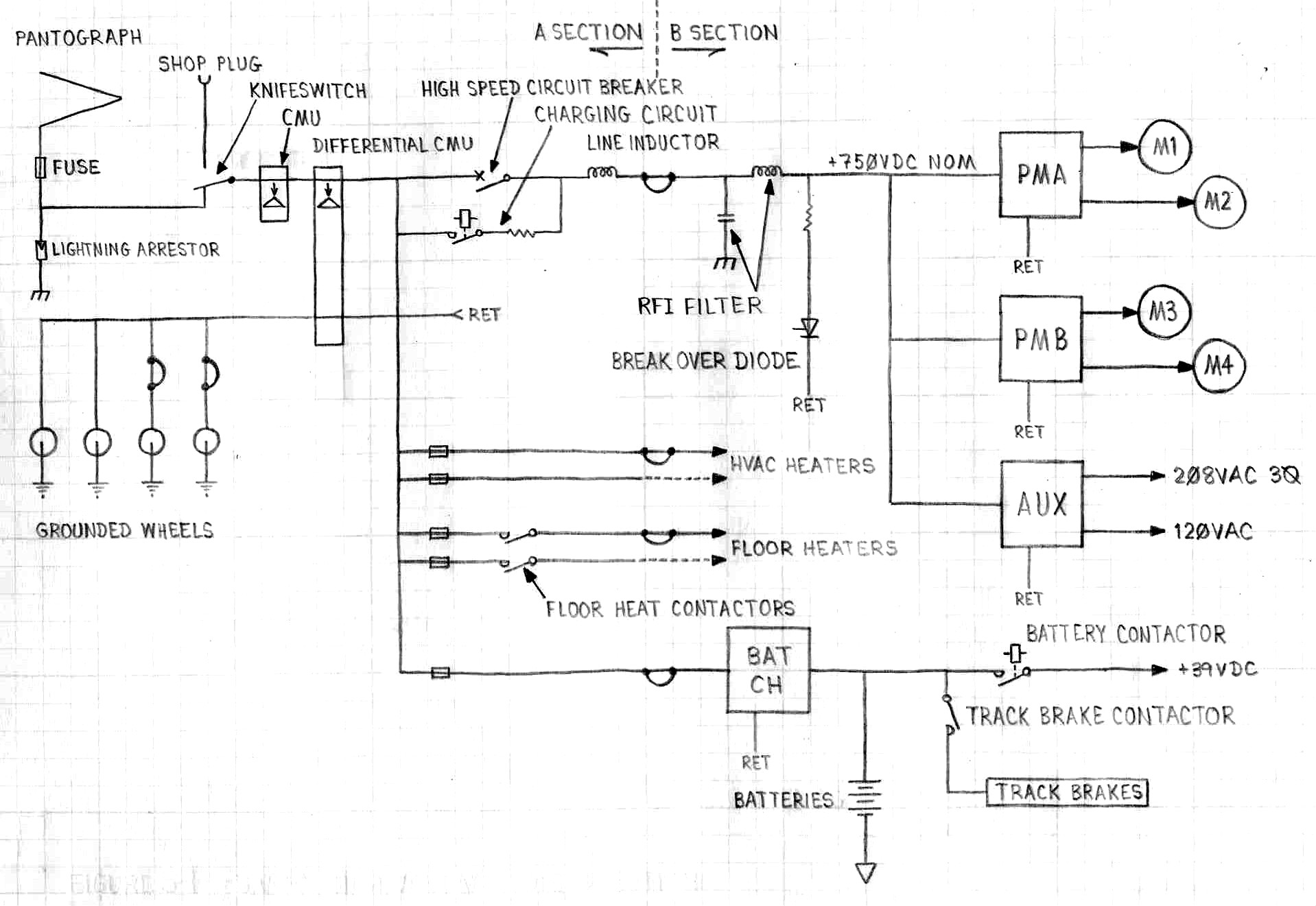 lrv chapter5 Motor Contactor Wiring Diagram