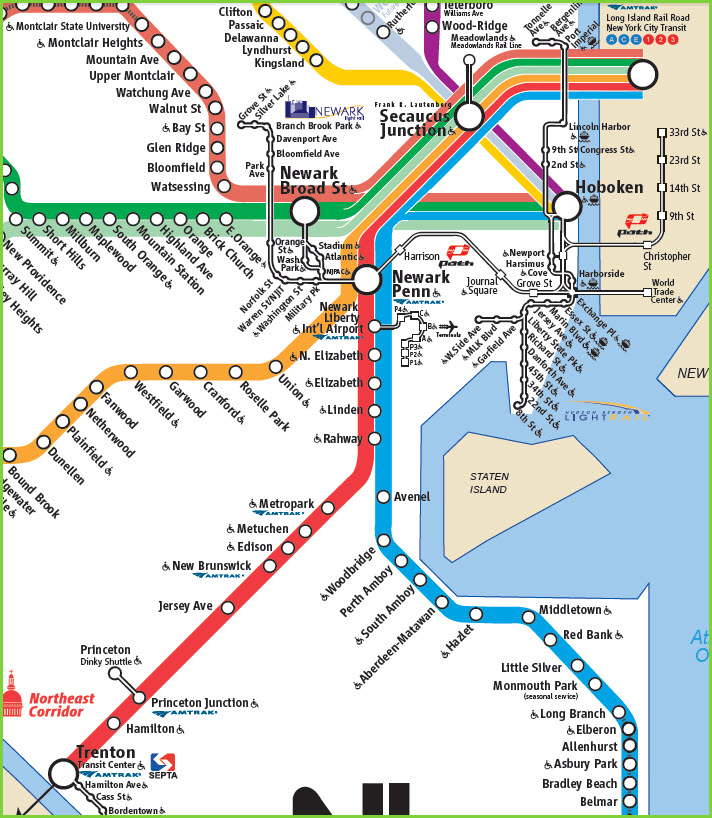 Train Trip Wilmington DE To NYC - Map of us train routes